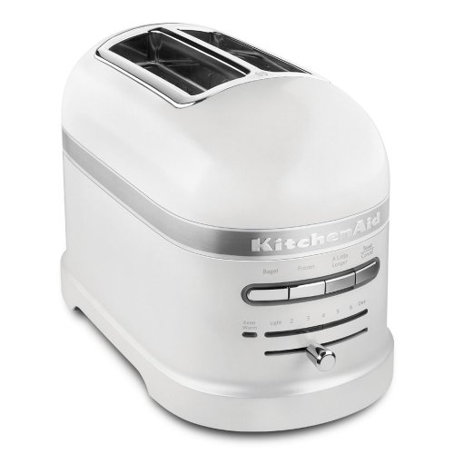 Kitchenaid Pro Line Series Frosted Pearl White 2 Slice