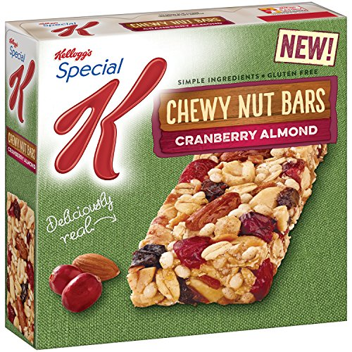 Special K Chewy Nut Bar Cranberry Almond 5 82 Ounce